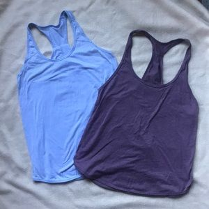 LULULEMON Bundle of 2 Flowy Tanks Size 6